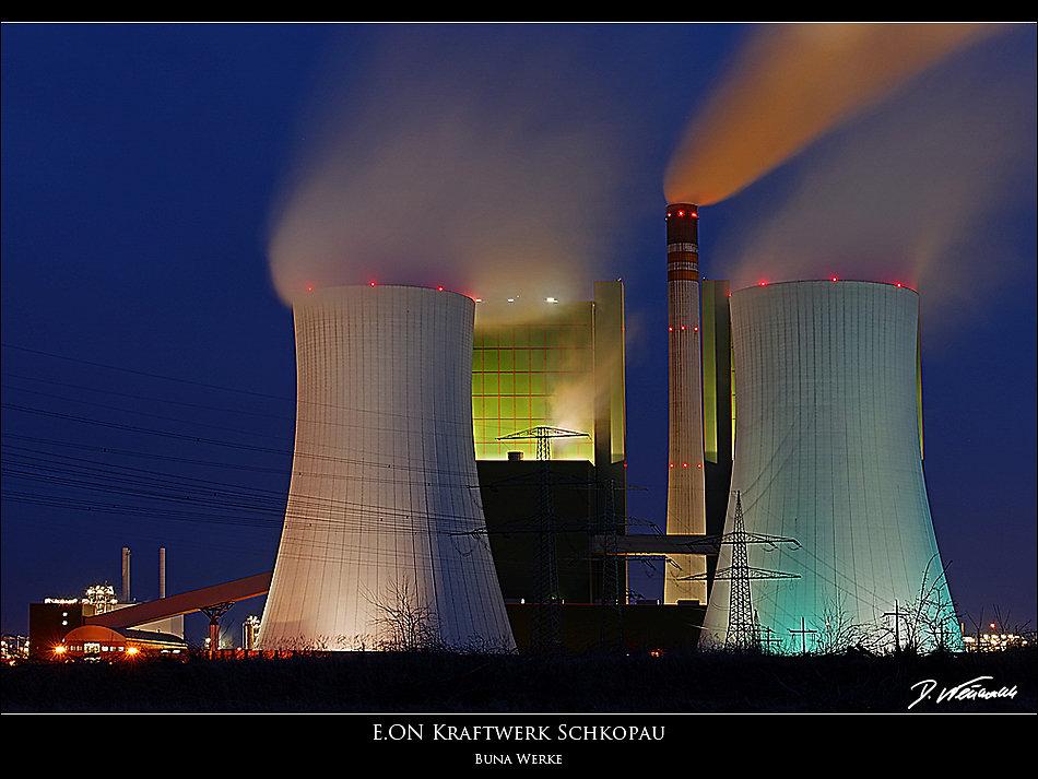 EON Kraftwerk Schkopau