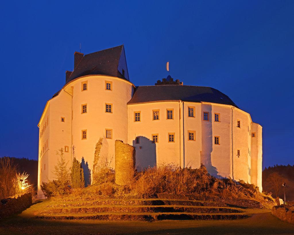 Burg Scharfenstein hinten