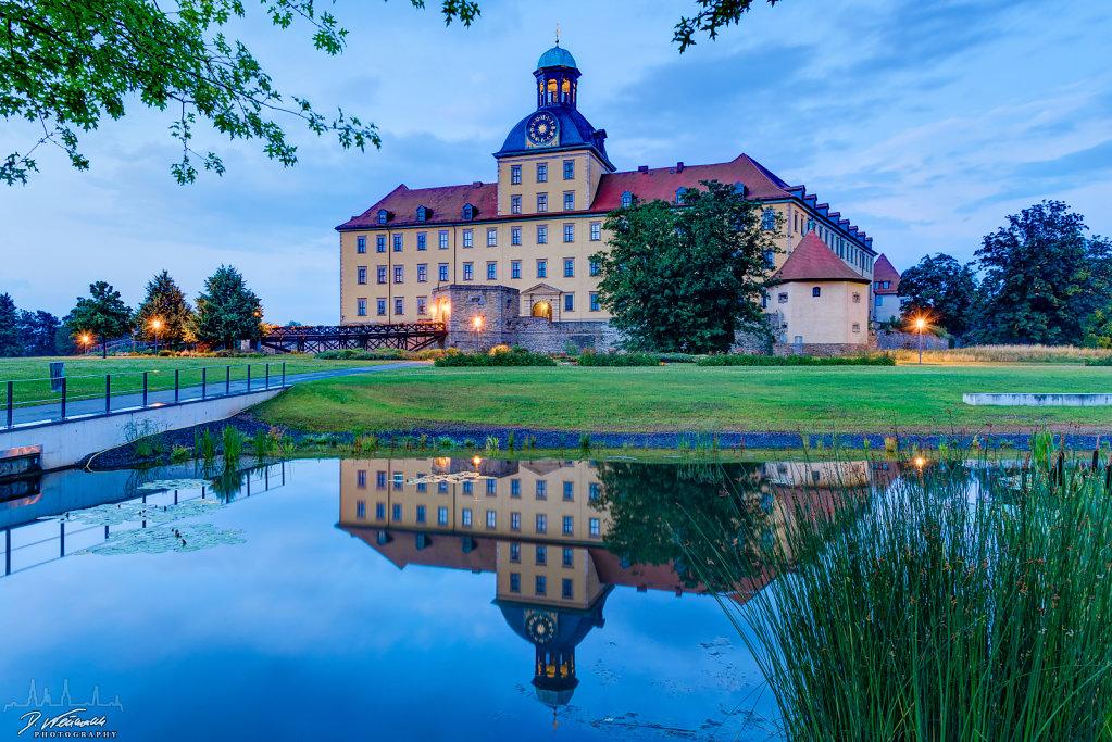 Schloss Moritzburg bei Zeitz